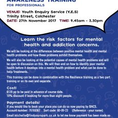 Mental Health Awareness Training for Professionals