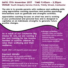 Developing Your Resilience Training Nov